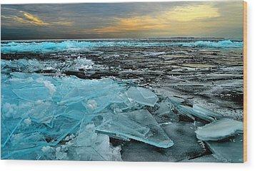 Ice Storm # 6 - Battery Bay - Kingston - Canada Wood Print