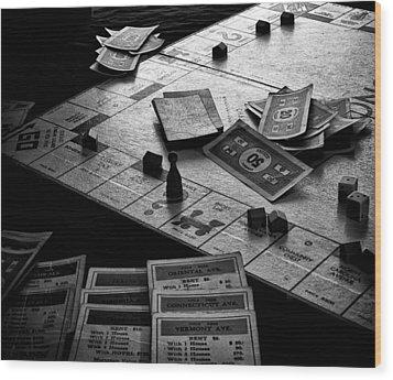 Iconic Game Wood Print