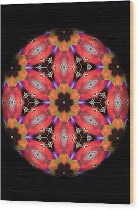 iCube Mandala Wood Print