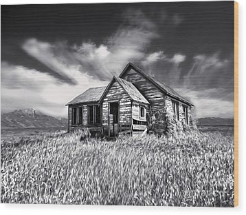 Idaho Wood Print by Gregory Dyer