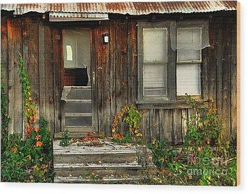 Idaho Retirement Estates Wood Print