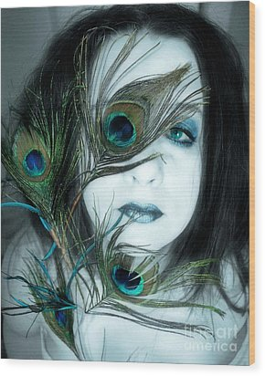 If I Let You In Would You Understand Wood Print by Heather King