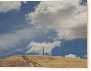 If You Wanna Run Away Wood Print by Laurie Search