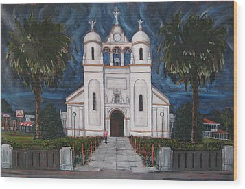 Iglesia Curridabat  Costa Rica Wood Print