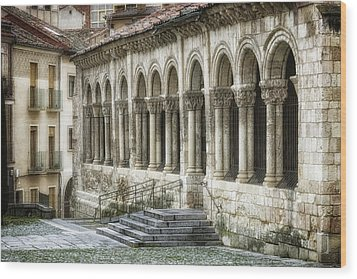 Iglesia De San Millan Wood Print by Joan Carroll