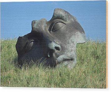 Igor Mitoraj Sculpture 1 Wood Print