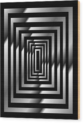 IIlusions Wood Print by Gayle Price Thomas