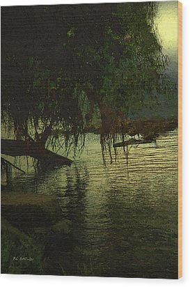 I'll Be Waiting Wood Print by RC deWinter