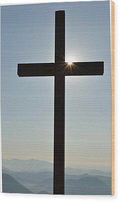 Illuminated Glory  Wood Print
