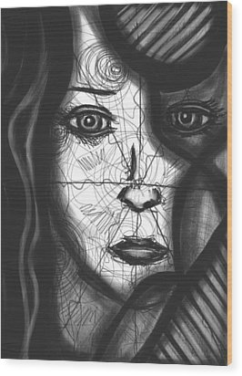 Illumination Of Self Wood Print by Daina White