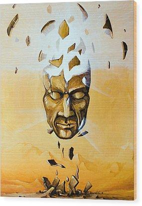 Illuminator Wood Print by Mariusz Zawadzki