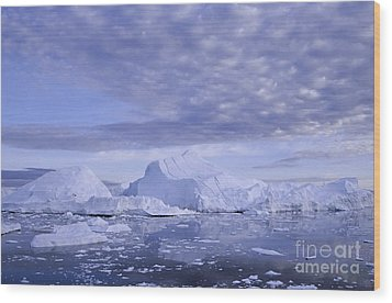 Wood Print featuring the photograph Ilulissat Icefjord Greenland by Rudi Prott