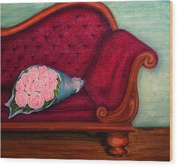 I'm Not Renoir Wood Print