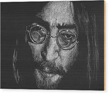 Imagine - John Lennon Wood Print