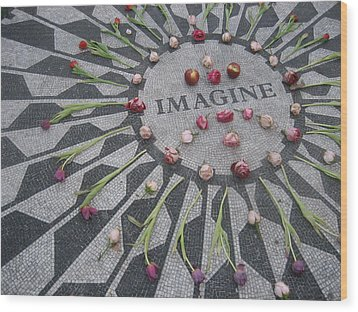 Imagine Wood Print by Kendell Timmers