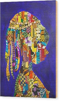 Imani Wood Print by Apanaki Temitayo M