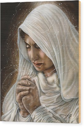 Immaculate Conception - Mothers Joy Wood Print