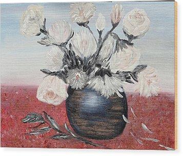 Immaculates Wood Print by Corina Blejan Lupascu
