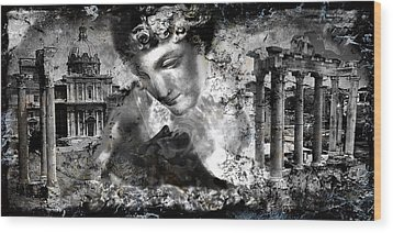 Immortality..... Wood Print by Anastasios Aretos