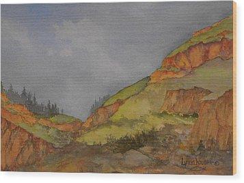 Imnaha Bluffs Wood Print