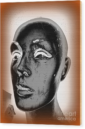 Imperfect Beauty Wood Print by Ed Weidman