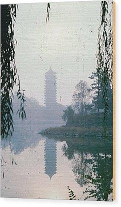 Imperial Garden In Beijing Wood Print