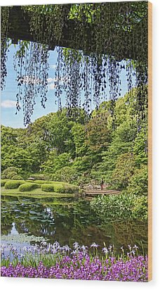 Imperial Gardens Wood Print