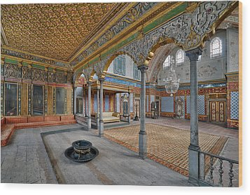 Imperial Hall Of Harem In Topkapi Palace Wood Print by Ayhan Altun