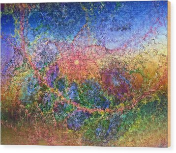 Impressionist Dreams 1 Wood Print by Casey Kotas