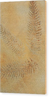 Imprints - Abstract Art By Sharon Cummings Wood Print by Sharon Cummings