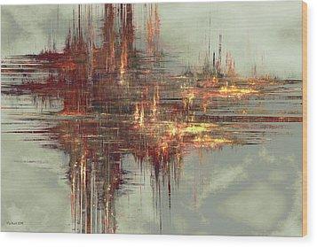 In A Flash Wood Print by Kim Redd