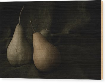 In Darkness Wood Print by Amy Weiss