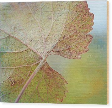 In Honor Of Autumn Wood Print by Fraida Gutovich
