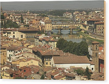 In Love With Firenze - 1 Wood Print