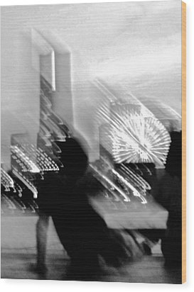 Wood Print featuring the photograph In Love With Love - 10 by Larry Knipfing