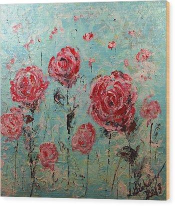 In My Dreams Wood Print by Laura  Grisham