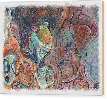 In My Minds Eye Wood Print by Susan Leggett