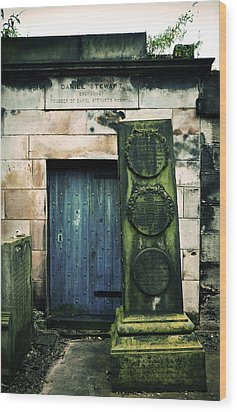 In Old Calton Cemetery Wood Print by RicardMN Photography