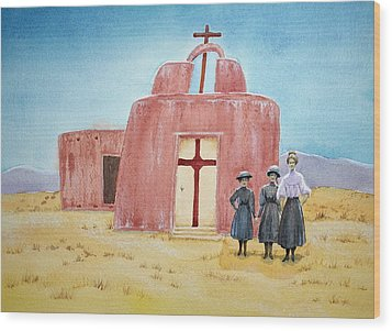 In Old New Mexico II Wood Print