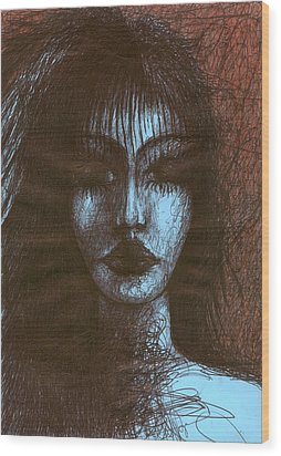In Quiet Wood Print by Wojtek Kowalski