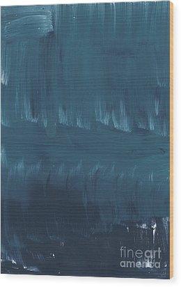 In Stillness Wood Print by Linda Woods