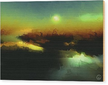 In The Afternoon Sun Wood Print by Gun Legler