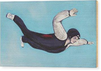 In The Air Wood Print by Anastasiya Malakhova
