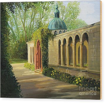 In The Gardens Of Sanssouci Wood Print by Kiril Stanchev