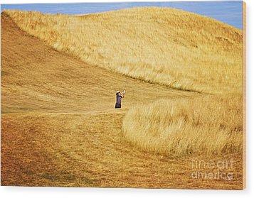 In The Hills Wood Print by Scott Pellegrin