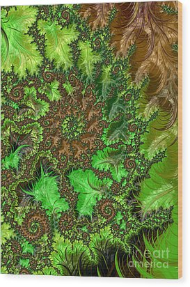 In The Jungle  Wood Print by Heidi Smith