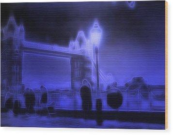 In The Moonlight Wood Print by Steve K