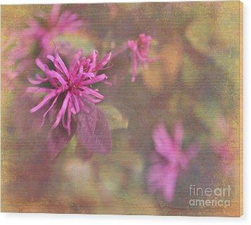 In The Pink Wood Print by Judi Bagwell