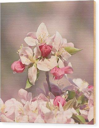 In The Pink Wood Print by Kim Hojnacki