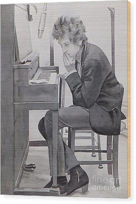 In The Studio Wood Print
